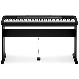 CASIO Contemporary Digital Pianos with Stand [CDP-130] - Black - Digital Piano